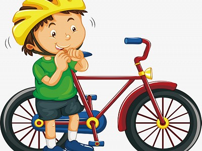 Госавтоинспекторы напоминают велосипедистам основные правила дорожной безопасности