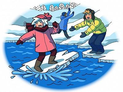 Безопасность на воде в период ледостава.